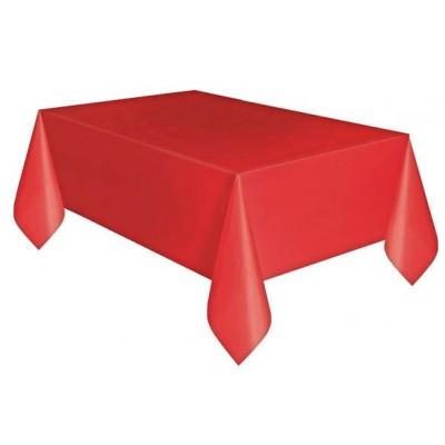 Tovaglie plastificate rosso