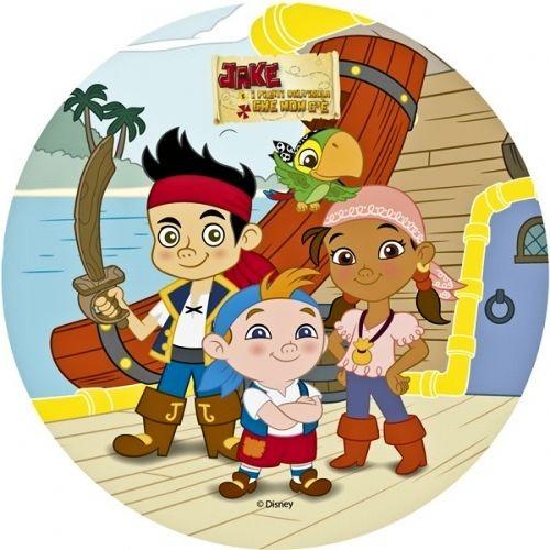Cialda jake e i pirati a soli decorazioniperdolci
