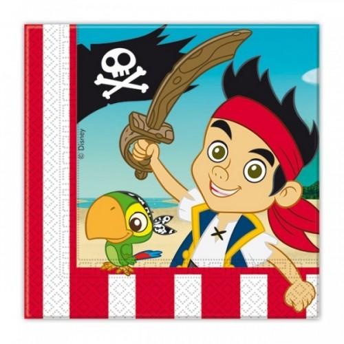 Tovaglioli jake e i pirati decorazioniperdolci