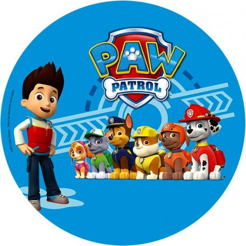 Cialda per torta paw patrol a decorazioniperdolci