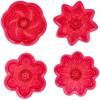 Formine per Cupcake Fiori 4pz