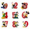 Candelina Numerale Banda Disney