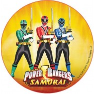 Cialda Power Rangers torta
