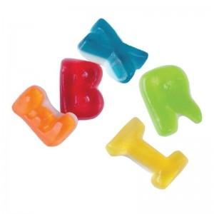 Caramelle gommose Lettere Alfabeto 1 kg