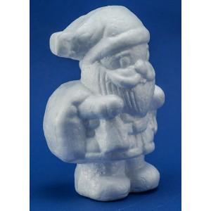 Babbo Natale medio in polistirolo