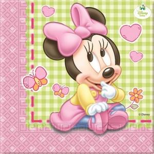 Baby Minnie - Tovaglioli