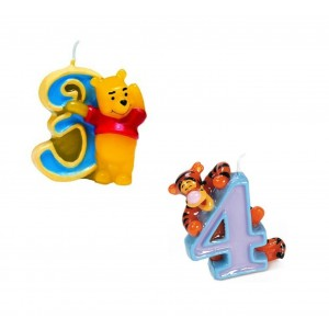 Candelina Numerale Winnie the Pooh