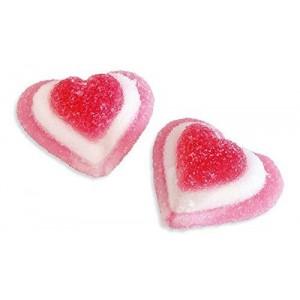 Caramelle gommose Cuori rosa tricolori 1kg