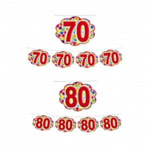 Festone Nuvolette 70 e 80 anni