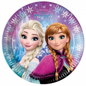 Piatti Frozen 23 cm - Pz.8
