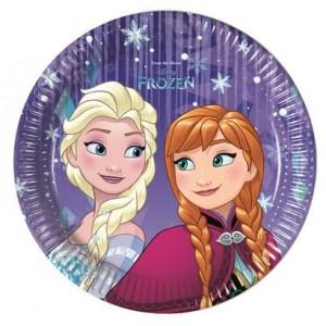 Piatti Frozen 20 cm - 8 pz