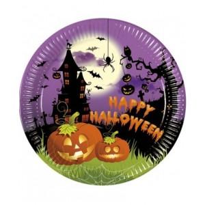 Piatti piccoli Halloween - 8 Pz.