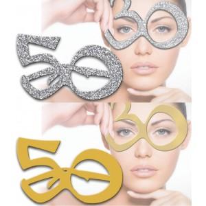 Occhiali 50 anni Argento e Oro