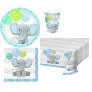 Elefantino Celeste Festa