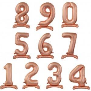 Numeri Standing Maxi Rosa Gold