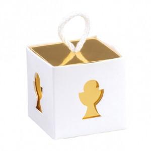 Cubo Portaconfetti Calice Comunione