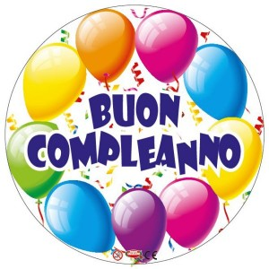 Buon Compleanno Palloncino Mylar