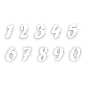 Numeri maxi in Polistirolo