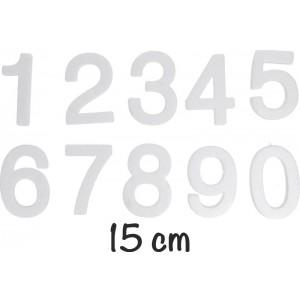 Numeri medi in polistirolo