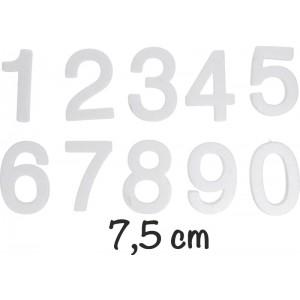 Numeri polistirolo piccoli 10 pz