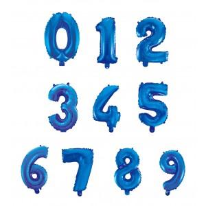 Palloncini Medi Numero blu