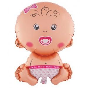 Palloncino Nascita Baby Girl