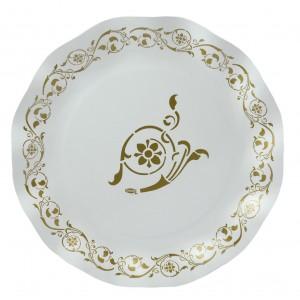 Piatto grande Golden elegance