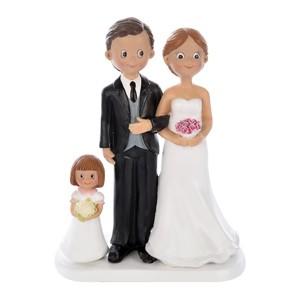 Statuina Sposi con Bimba