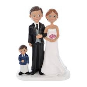 Statuina Sposi con Bimbo
