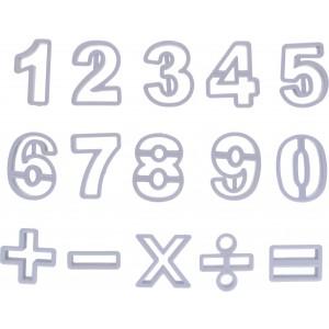 Stampini Numeri Plastica 15pz