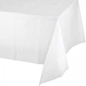 Tovaglia in Plastica Bianco