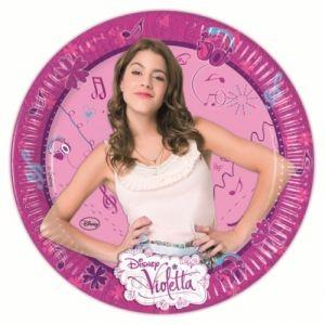 Piatto Violetta 23 cm
