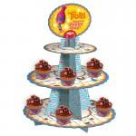 Alzata cupcake Trolls