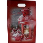 Porta 3 bottiglie natalizio vari disegni