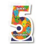 Candeline Numerali Jumbo Cm.10,5