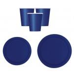 Coordinato tavola Blu Navy