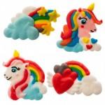 Arcobaleno e unicorno in Zucchero Pz.1