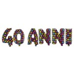 Kit Palloncini Festone 40 anni