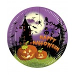Piatti grandi Halloween - 8 Pz.