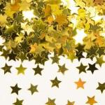 Coriandoli decorativi Stelline Oro 14g