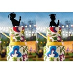 Cake Topper Laurea