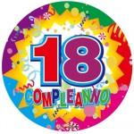 18 Anni Palloncino Mylar