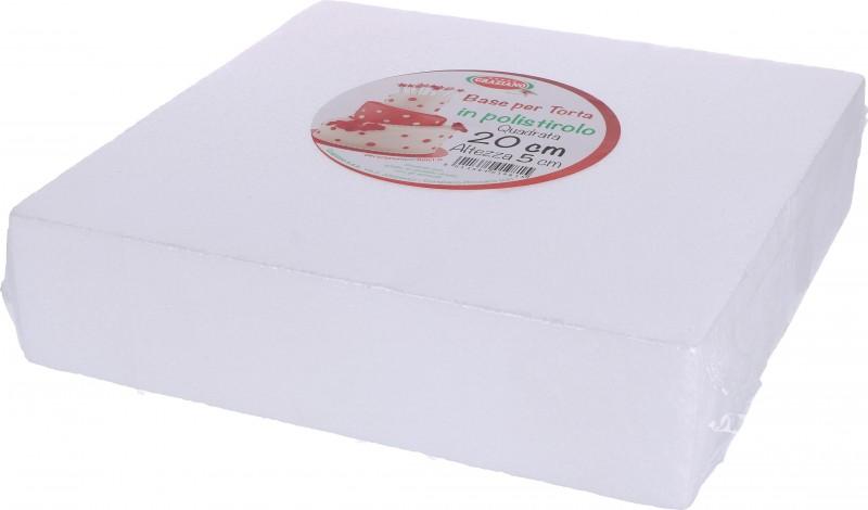 Basi QUADRATE per Torta in Polistirolo