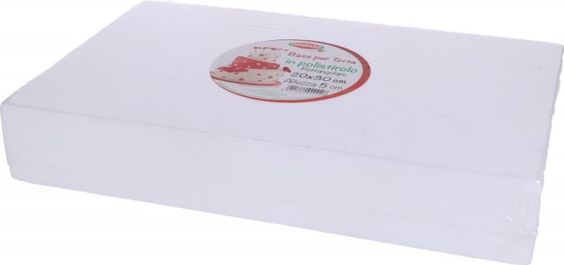 Basi RETTANGOLARI per Torta in Polistirolo