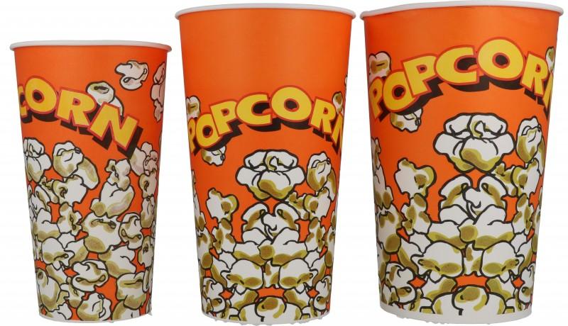 Bicchieri Pop Corn