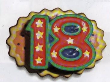 Candelina 18 stelle