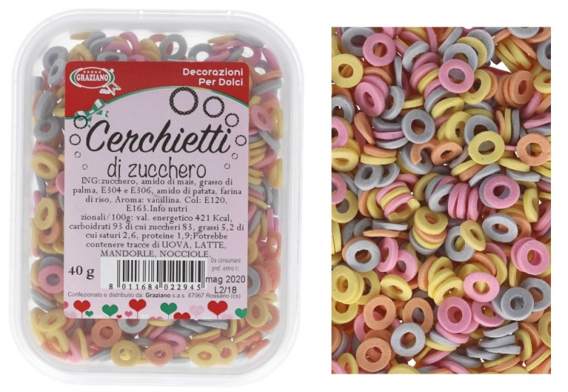 Cerchietti Colorati 40g