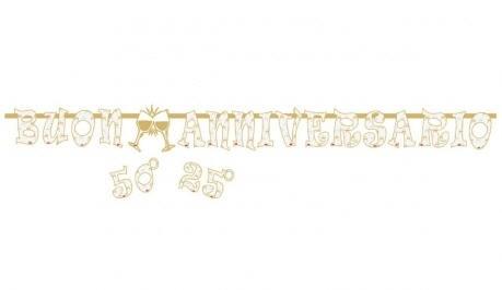 Festone Buon Anniversario Personalizzabile
