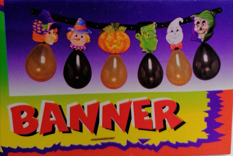 Festone Halloween + palloncini