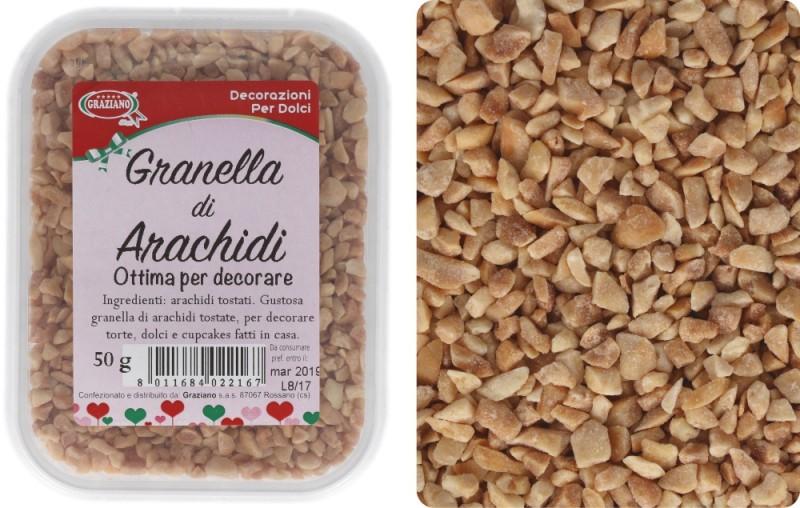 Granella di Arachidi 50g